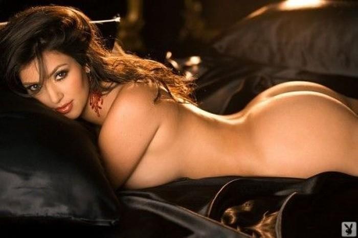 Kim Kardashian в Playboy (10 фото)