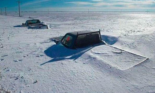 Все завалило снегом (32 фото)