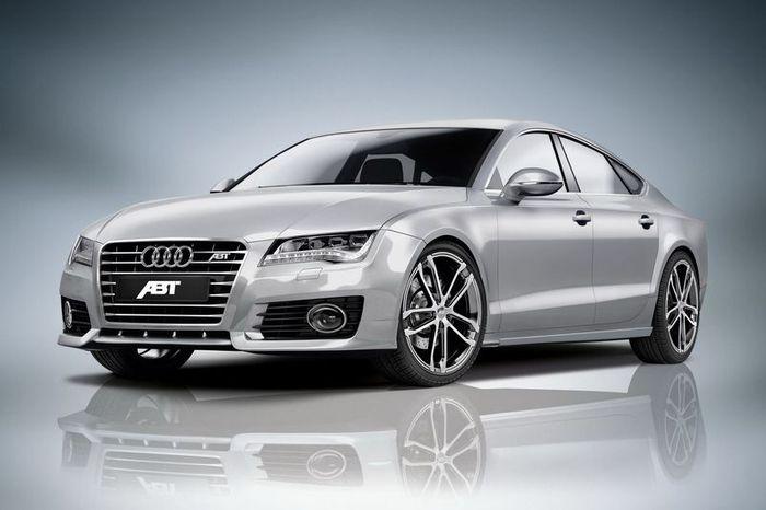 Тюнинг ателье ABT представило тюнинг пакеты для Audi A7 (6 фото)