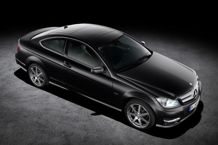 Новый Mercedes C-class Coupe (46 фото)