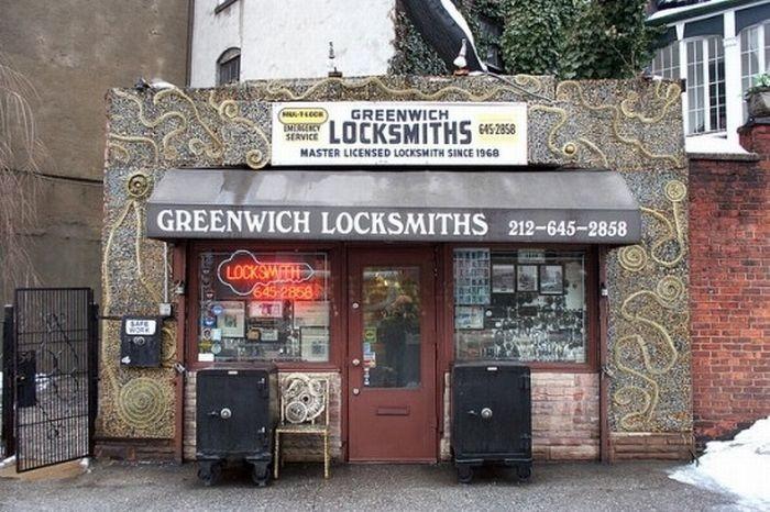 Магазин по производству ключей в Нью-Йорке (5 фото)