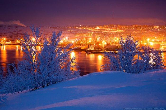 Заполярье: Суровый Мурманск  (50 фото + 4 панорамы)