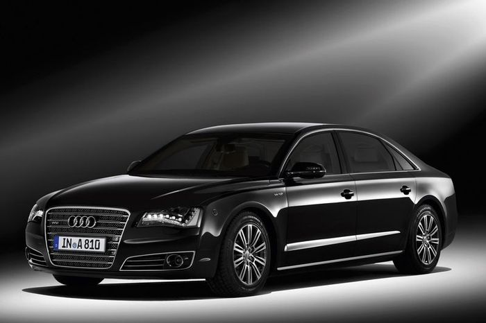 Новый Audi A8 L High Security - бронемобиль (5 фото)