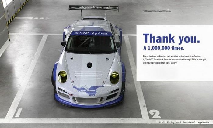 Porsche GT3 R Hybrid специально для Facebook (10 фото+видео)