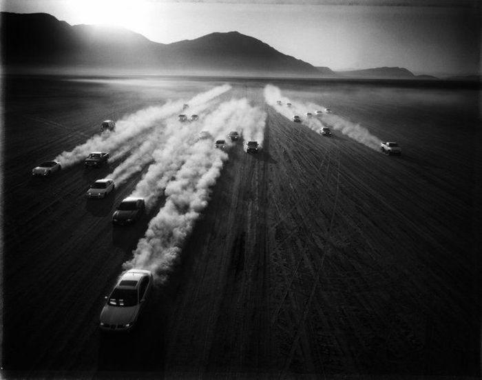 Профессиональные фото мексиканских автогонщиков (12 фото)