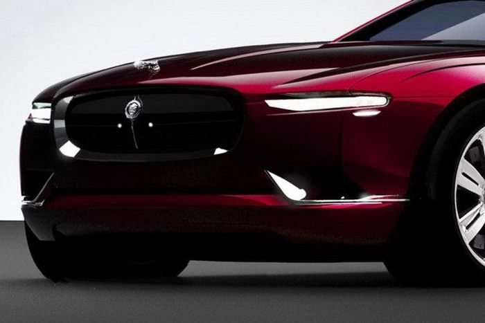 Концепт Jaguar B99 от Bertone (6 фото)