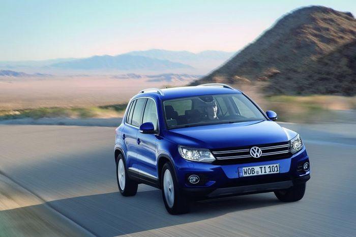 Рестайлинг VW Tiguan порадует 3-мя новыми моторами (27 фото)