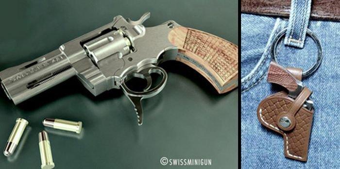 Самый маленький пистолет в мире (7 фото)