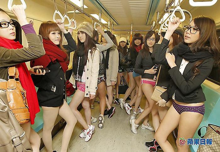 Где азиатки в метро