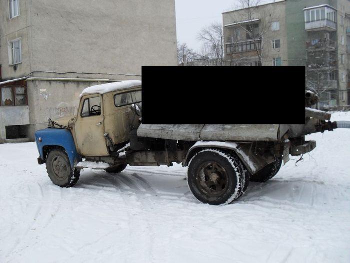 Автобочка сложилась (5 фото)