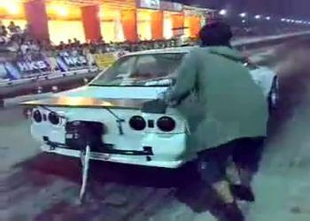 Nissan Skyline GT-R 32 1500 л.с. 100 км/ч за 1,2с