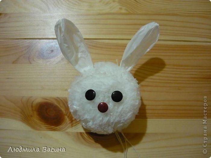 Поделка своими руками кролик