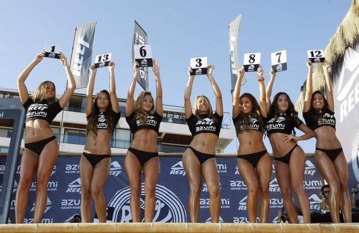 Мисс Reef 2011 - конкурс красивых поп (33 фото)