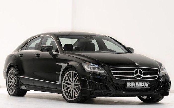 Mercedes CLS от Brabus покажут в Женеве (9 фото)