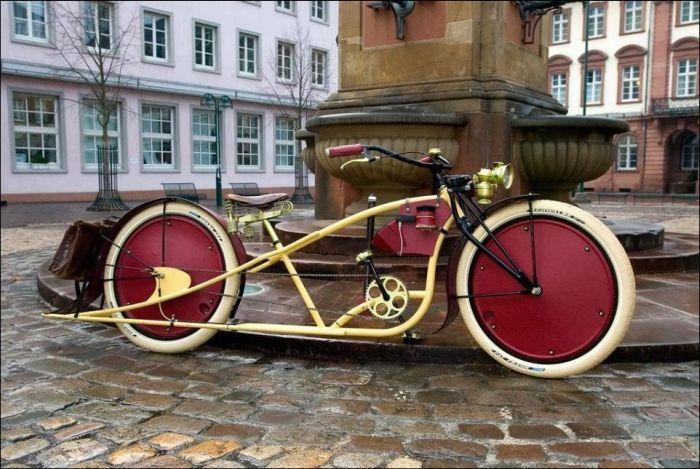 Подборка классных вело и мотовелосипедов (25 фото)
