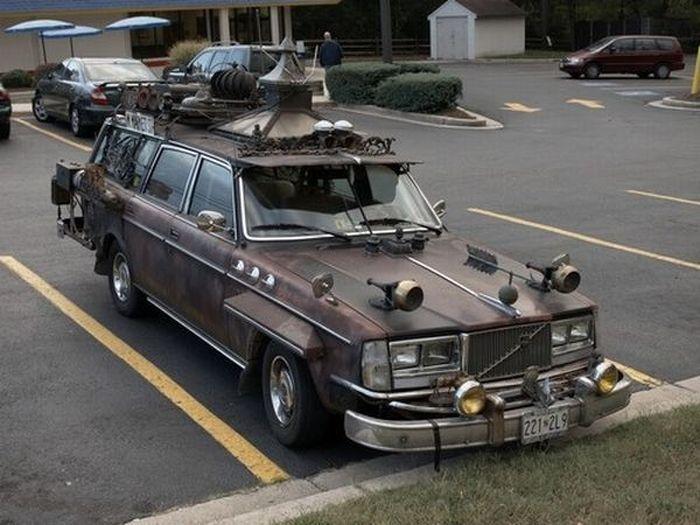 Забавные и необычные автомобили (26 фото)