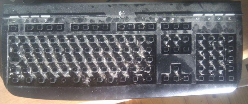 Как почистить клавиатуру? (7 фото)