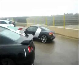 Первая парковка на Audi R8