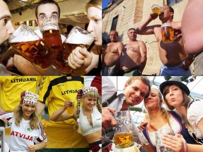 25 самых пьющих стран мира (28 фото)