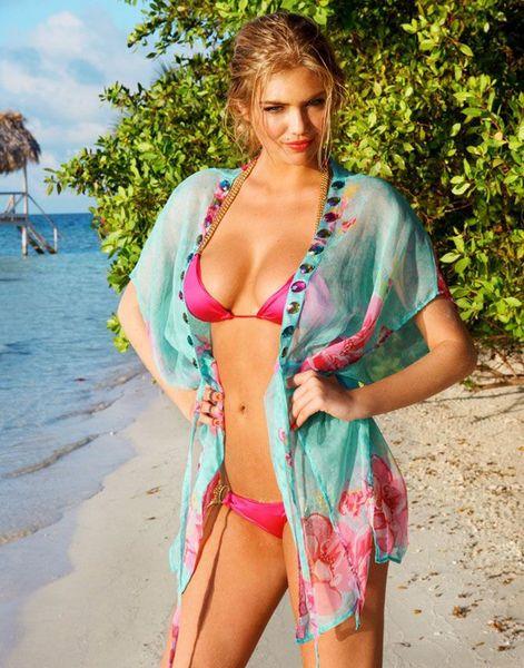 Кейт Аптон в купальниках Beach Bunny (23 фото + 1 видео)