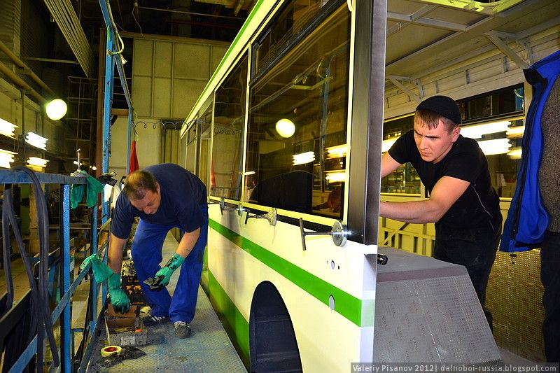 ЛиАЗ - Ликинский автобусный завод (69 фото)