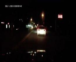 Погоня за Mazda 3 и финальная авария