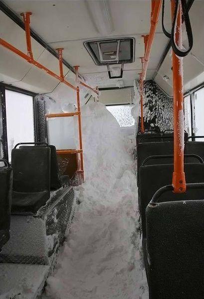 Думаете у Вас холодно? Зима в Норильске (8 фото)