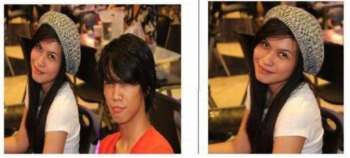 Как выглядят фотографии после расставания (4 фото)