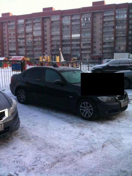 Суровая московская месть хозяину BMW (3 фото)