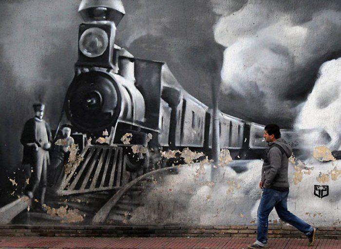 Граффити в Афинах (15 фото)