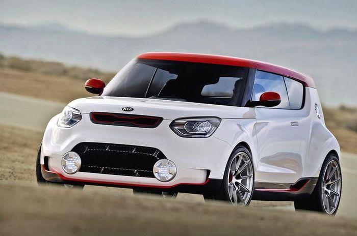 Компания Kia представила спортивный концепт Trackster (9 фото)