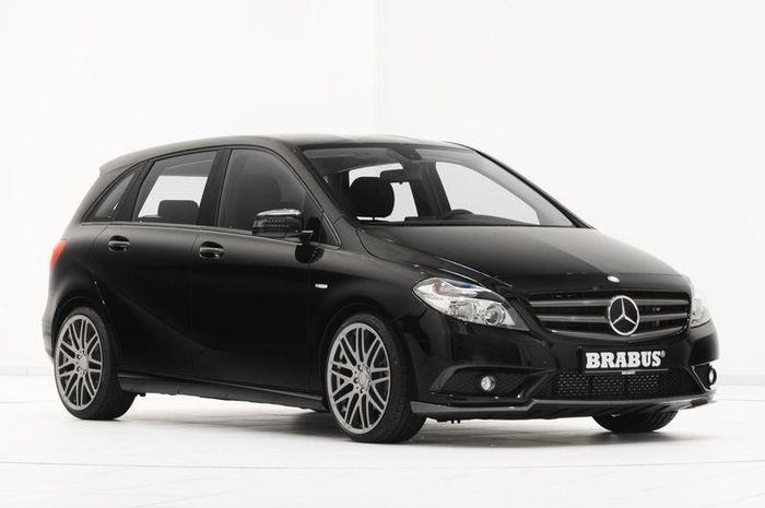 Mercedes-Benz B-Class получил тюнинг пакет от ателье Brabus (14 фото)