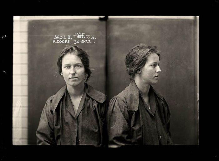 Австралийские преступницы начала 20-го века (35 фото)