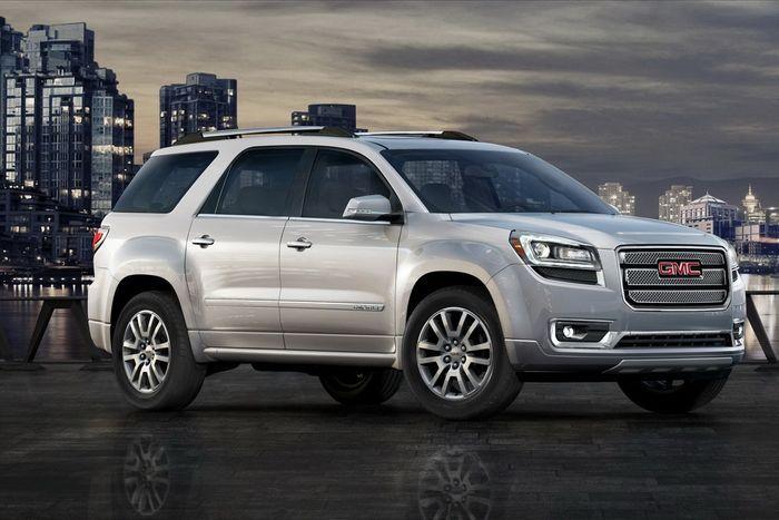 Компания General Motors показала обновленный GMC Acadia (30 фото)