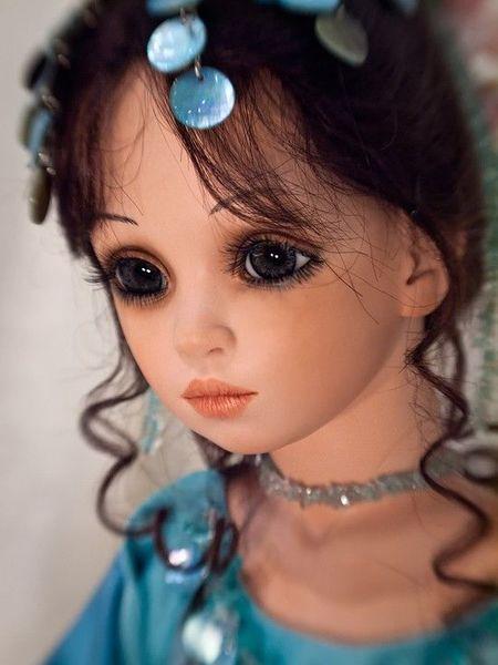 Фарфоровые куклы Сью Линг Ванг (16 фото)