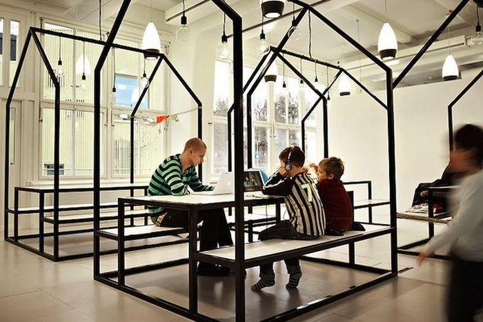 Школа без стен в Швеции (11 фото)
