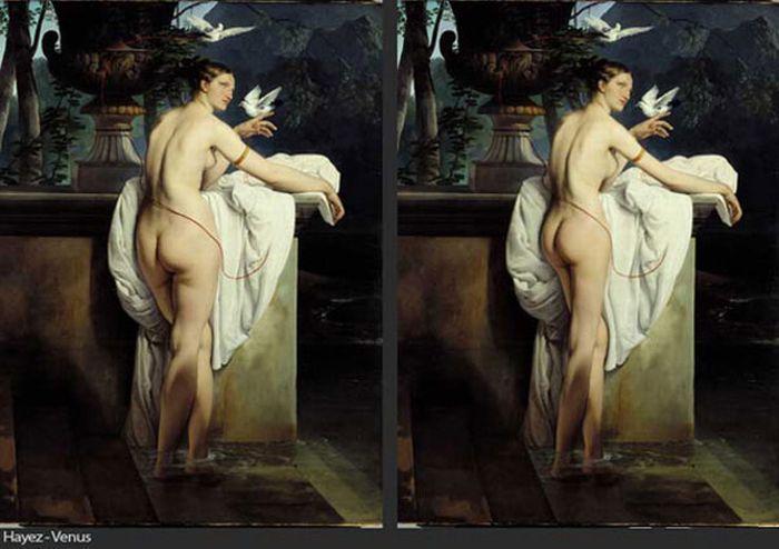 Фотошоп в известных картинах (7 фото)