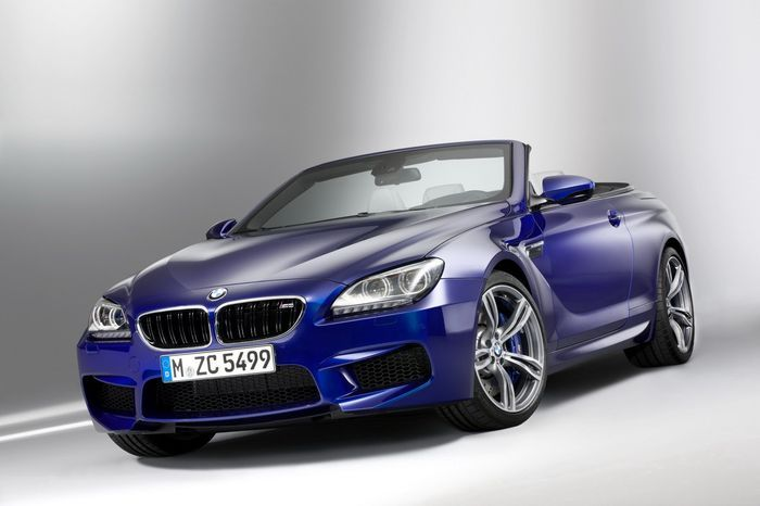 Компания BMW показала купе и кабриолет 6-серии в М-пакете (32 фото)