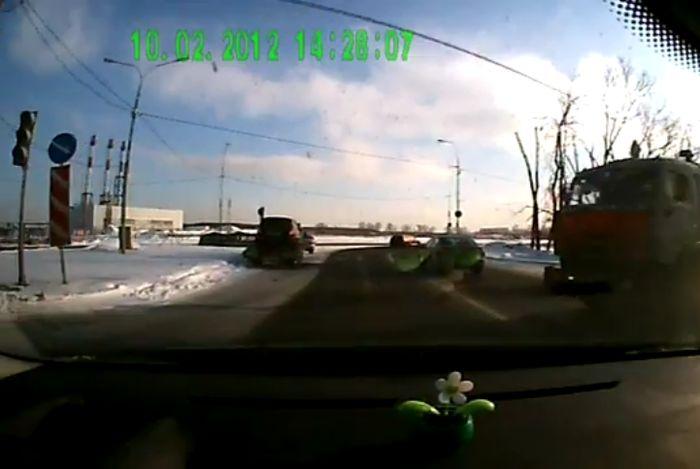 Авария дня часть 461 (фото+видео)