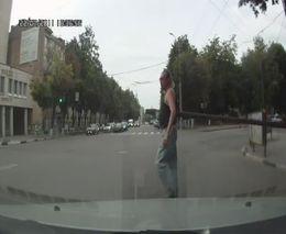 Тупые пешеходы из Воронежа