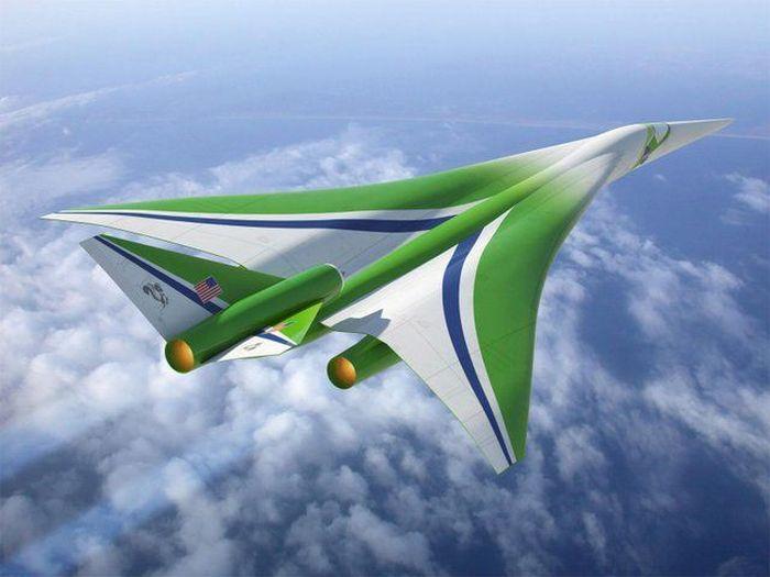 Самолёты будущего NASA (15 фото)