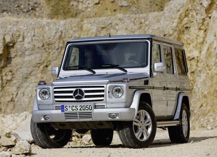 Mercedes-Benz G-класса получит гибридную версию (текст)