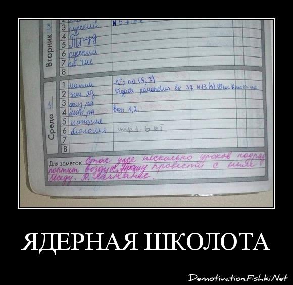Ядерная Школота