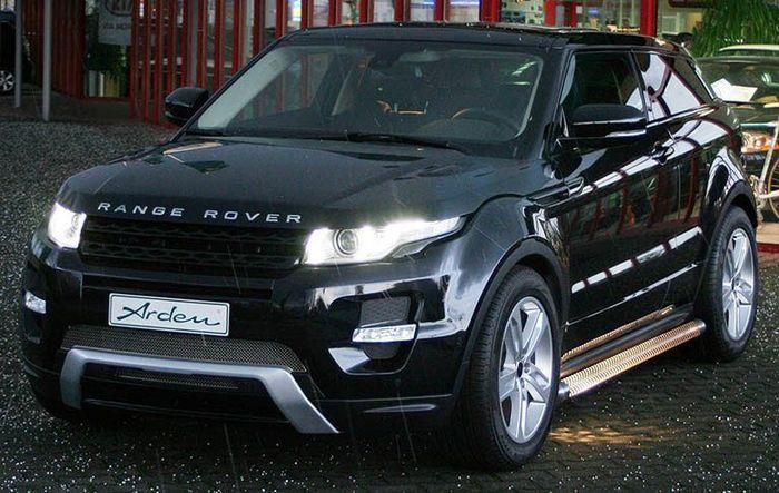 Range Rover Evoque получил тюнинг пакет от ателье Arden (4 фото)