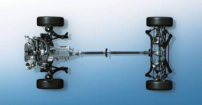 Subaru празднует 40-летие своего полного привода (6 фото)