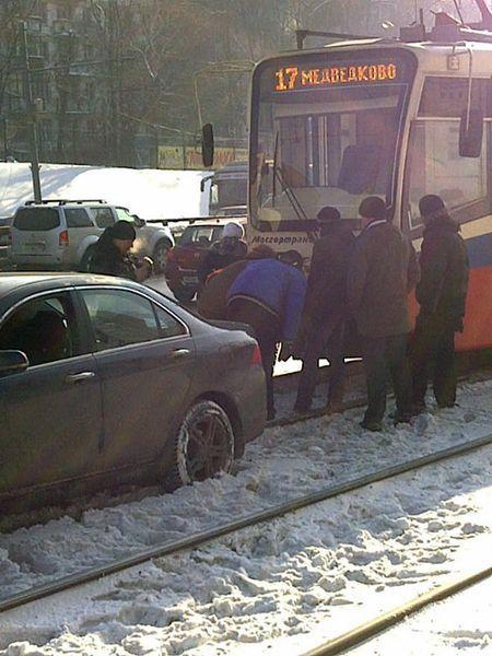 Honda ни разу не трамвай (4 фото)