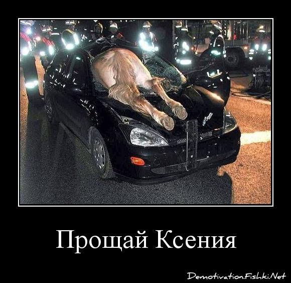 Прощай Ксения