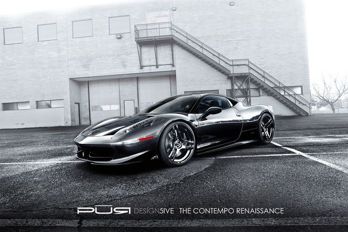 SR Project Kiluminati Ferrari 458 Pure Five (7 фото)