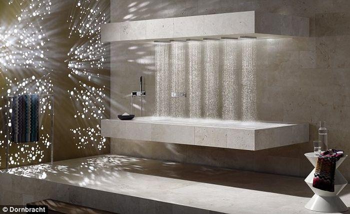 Горизонтальный душ - это круто (3 фото)