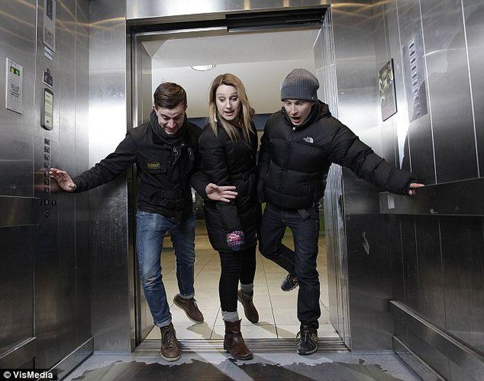 Добро пожаловать в лифт без дна! (4 фото)